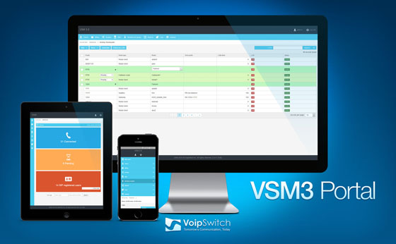 A new web-based HTML5 VoipSwitch Manager