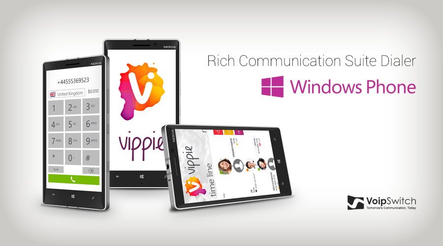 Voipswitch is launching RCS Dialer for Windows Phone