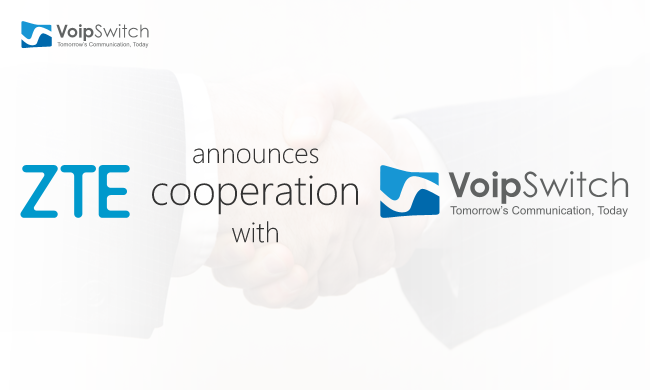 ZTE announces cooperation with VoipSwitch